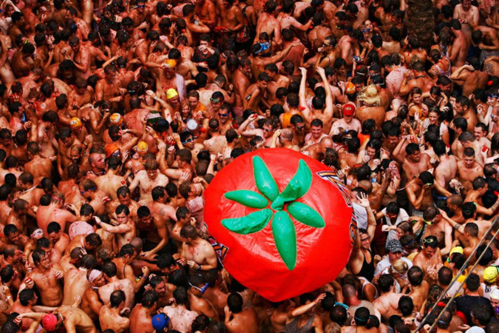 Tomatina, Spain
