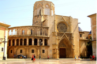 Cathedral of Valencia and the city centre