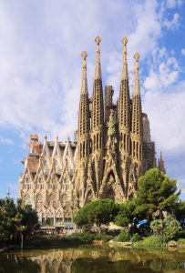 The Cathedral of La Sagrada Familia, Barcelona