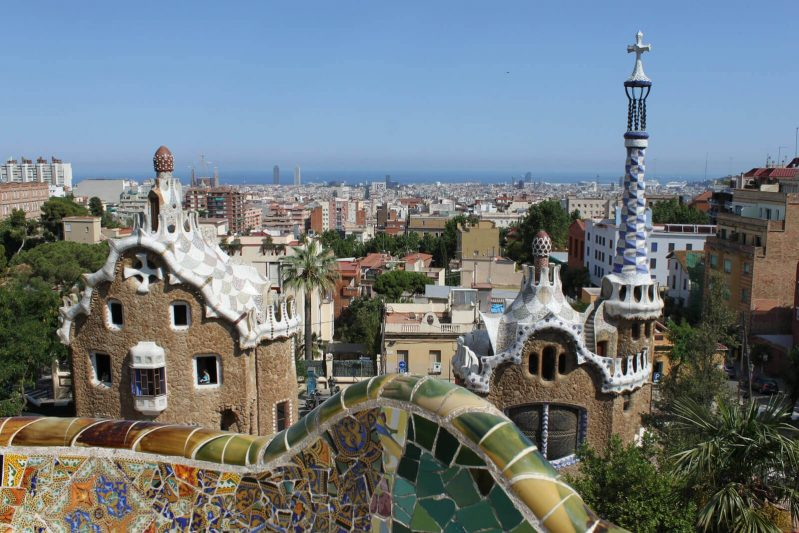 Park Güell, Barcelona - Spanish Speaking location