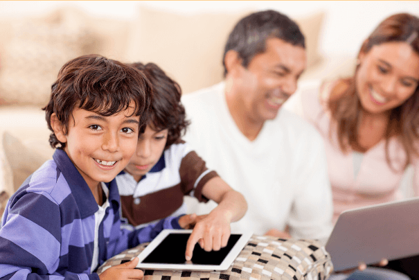 Online Spanish courses with family