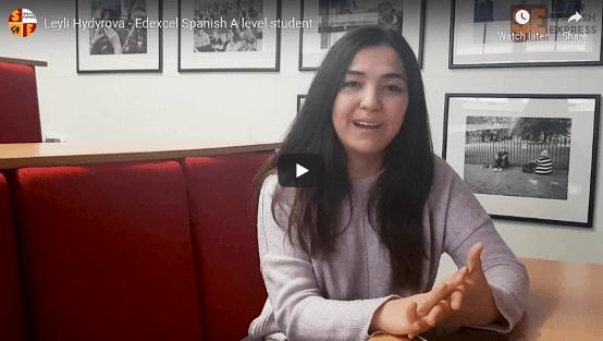 Leyli Hydyrova - Edexcel Spanish A level student