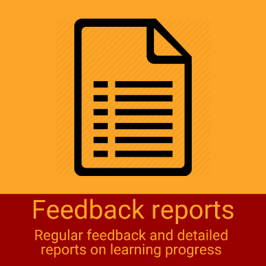 Feedback reports on the online corporate program