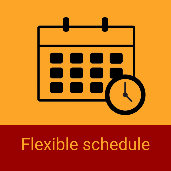 Flexible schedule | 1-day Immersion courses