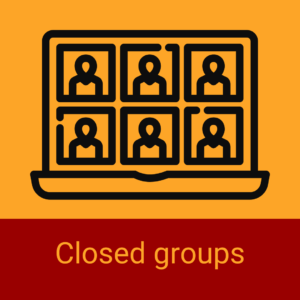 Online and face-to-face closed group tuition