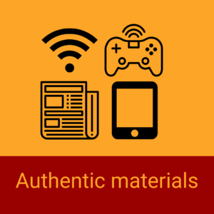 Authentic Materials | 1-day Immersion courses