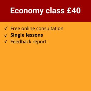 Online Spanish Course | Economy class £40