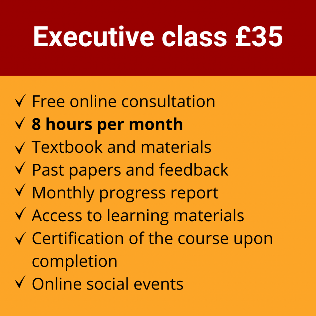Online Spanish Course | Executive class £35