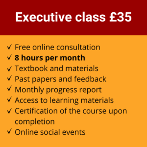 Online Spanish Course | Executive class £35