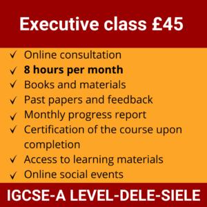 Online Spanish Course | Executive class £45