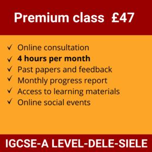 Online Spanish Course | Premium class £47