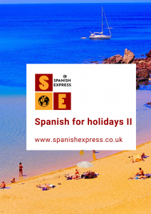 Online Spanish course for holidays II
