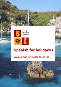 Online Spanish course for holidays I
