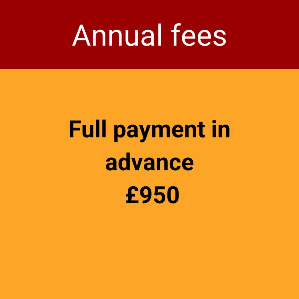 Annual fees