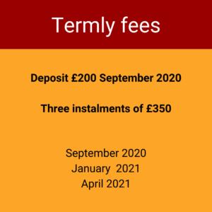 Termly fees