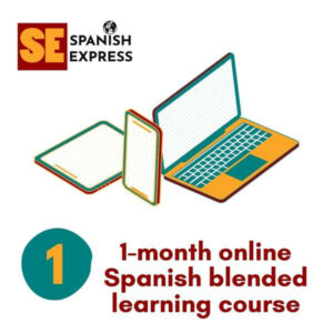 1 month online spanish blended learning course
