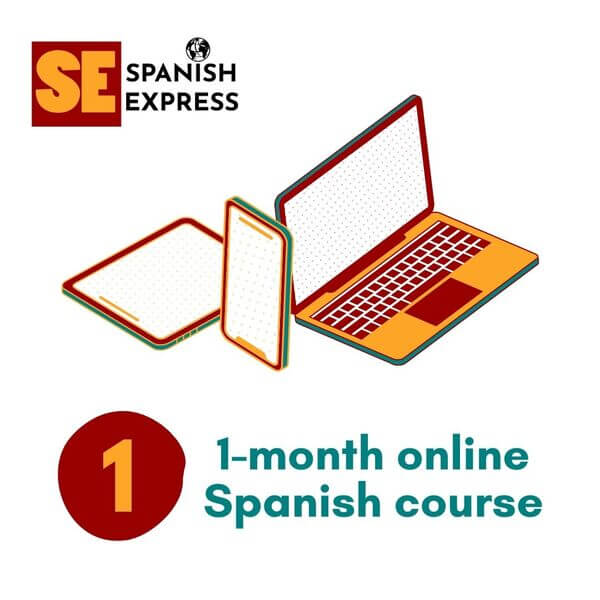 1 month online spanish course