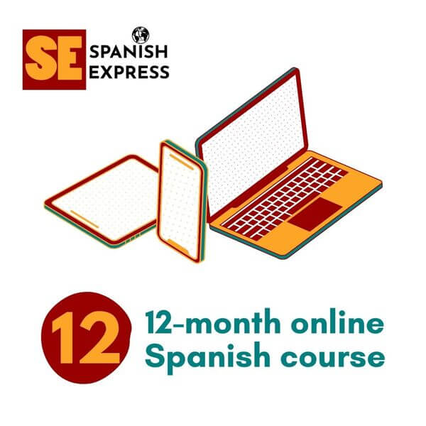 12 month online spanish course